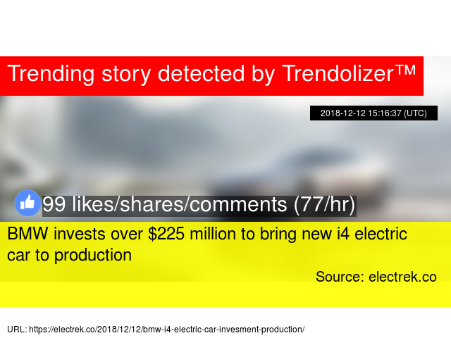 Bmw Invests Over 225 Million To Bring New I4 Electric Car To Production