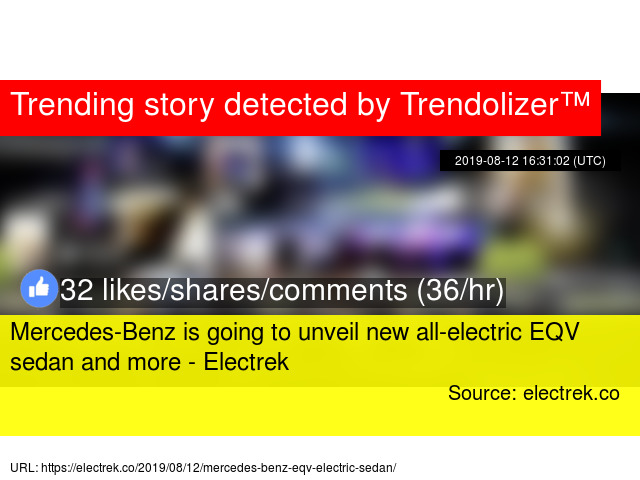 Mercedes-Benz is going to unveil new all-electric EQV sedan and more