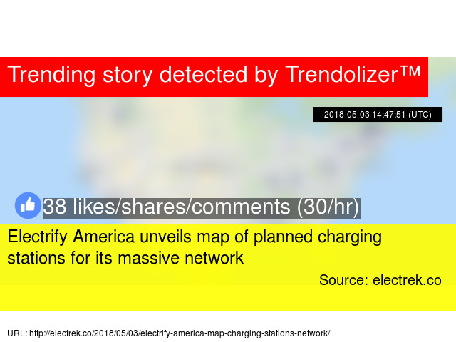 Electrify America Unveils Map Of Planned Charging Stations For Its